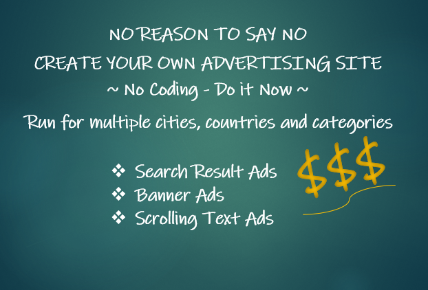 Create Advertising Site